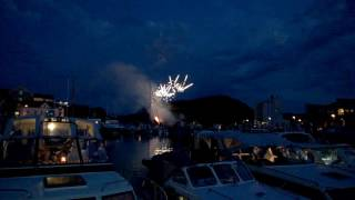 Firework in Halden