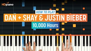 """How To Play """"10,000 Hours"""" By Dan + Shay & Justin Bieber 