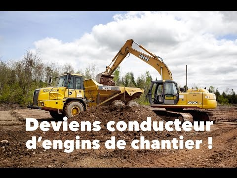 DEP | Conduite d'engins de chantier