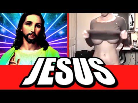 JESUS PRANK OMEGLE (Omegle Pranks)