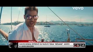 "David Bisbal estrenó su nuevo tema ""Bésame"" junto a Juan Magán"