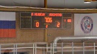 ОПМ 2015/2016. Белые Медведи - Локомотив; 1:4. 2й период. Детский хоккей (2003)