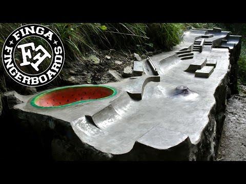 Finga fingerboards Outdoor Spot 2014
