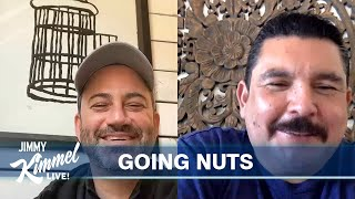 """Jimmy Kimmel's Quarantine Minilogue – Staying Normal, Guillermo's Snacks & Trump's """"Chinese Virus"""""""