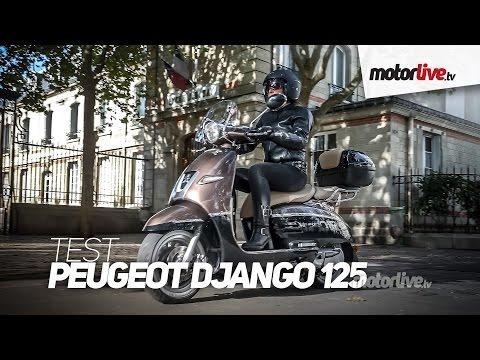 TEST | PEUGEOT DJANGO 125