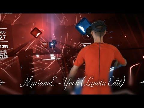 Beat Saber // MariannE - Yooh ( Lanota Edit) S Rank // Mixed Reality
