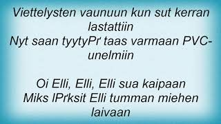 Apulanta - Elli '96 Lyrics