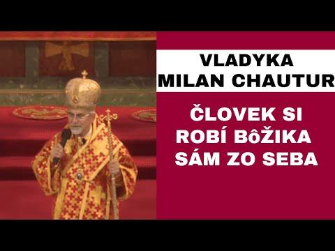 HOMÍLIA - Vladyka Cyril Vasiľ SJ: Človek chce prevziať moc do vlastných rúk