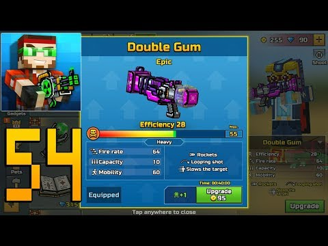 Pixel Gun 3D - Gameplay Walkthrough Part 54 - Double Gum