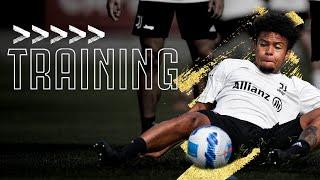 💪 Friday Finishing, Team Match & Basketball!   Juventus Training