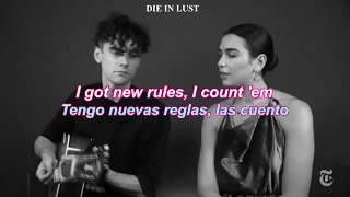New Rules Acoustic   Lyrics [sub. English  Español]