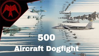 DCS Epic 500 Aircraft Dogfight! 5000 sub special