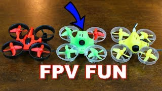 $50 Indoor FPV Drone - Efly F80 - TheRcSaylors