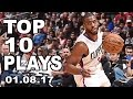 Top 10 Plays of the Night 010817
