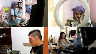 Modelos 'webcam' de Colombia se reinventan ante auge de demanda por pandemia | AFP