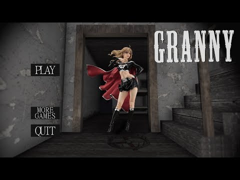 WHAT IF GRANNY WAS DARK SUPERGIRL? — Granny (Horror Game)