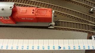 Traincontroller 53 Speed Profiling Using an External Measurement Device