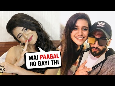 Priya Varrier EPIC Reaction On Meeting Ranveer Sin