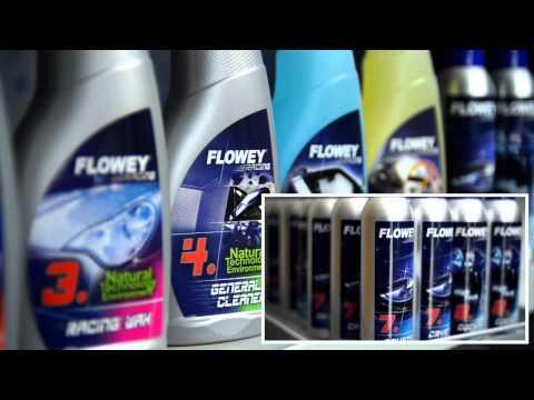 Flowey: detergenti professionali per auto