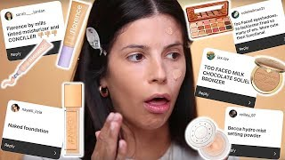 I TRIED THE MAKEUP  YOU HATED THE MOST!