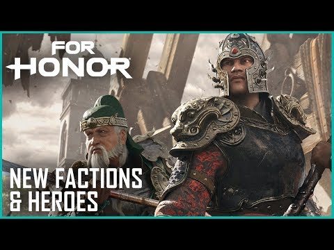 For Honor: Marching Fire Brings New Faction, Heroes, and Breach Mode | News | Ubisoft [NA] thumbnail