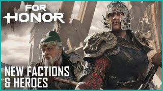 For Honor: Marching Fire Brings New Faction, Heroes, and Breach Mode | News | Ubisoft [NA]