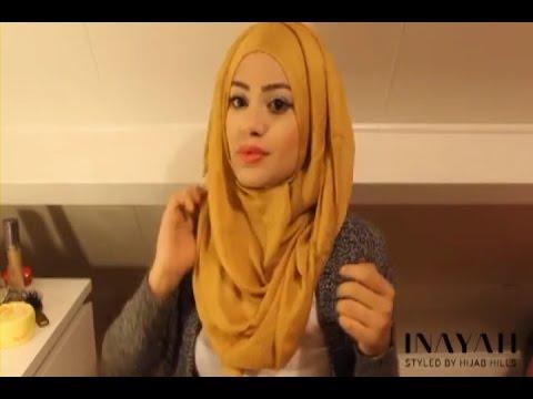 Video Hijab Tutorial  - Cara Memakai Jilbab Glamour Ala Artis #1