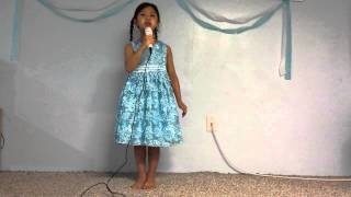 Michelle Pandi Singing Let It Go - Frozen Movie