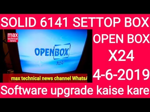 Download Solid 6141 Openbox X24 Software Update Video 3GP