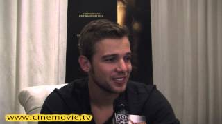 Max Thieriot On Kissing Jennifer Lawrence On-Set