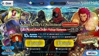 Iskandar  - (Fate/Grand Order) - 57 Rolls for Iskandar | Fate Grand Order USA | Fate/Accel Zero Order Banner