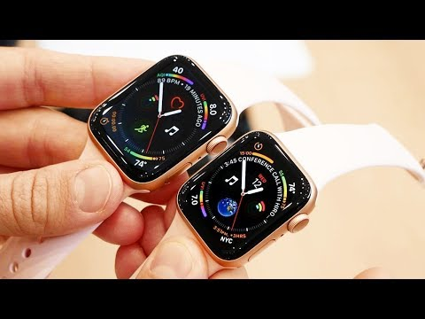 Обзор Apple Watch Series 4