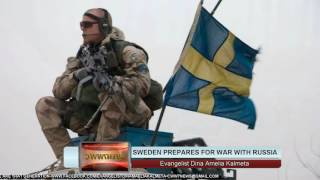 Sweden prepares for War with Russia