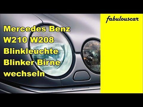 Blinkleuchte Blinker Birne wechseln ausbauen | Mercedes Benz W210 W208