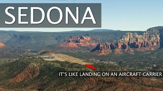 Flying to Sedona Arizona | Bucket List Airport | Beautiful City and Mountains