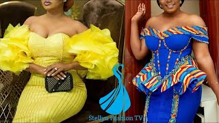 2020 African Print Designs: Most Trendy And Gorgeous Ankara/Lace Styles For Classy Ladies