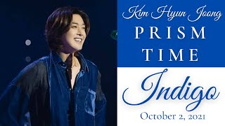 KIM HYUN JOONG - PRISM TIME INDIGO / Your Story Version Indigo / Captured Images included #prismtime