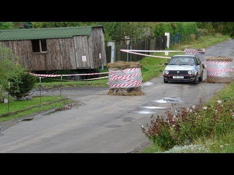38. ročník Rallye Příbram - průjezd přes Prosenickou Lhotu
