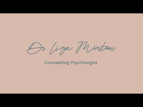Tools for managing anxiety - Dr Liza Morton, Counselling Psychologist