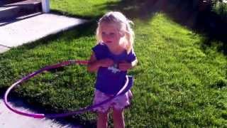 3 Year Old Hula Hoop Champion