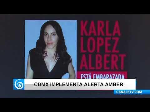 CDMX implementa Alerta Amber de manera inmediata