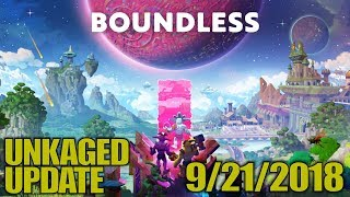 STREAMING BOUNDLESS, PICKLED EGGS & HOLD YOUR OWN | UnKaged Update | 9/21/2018