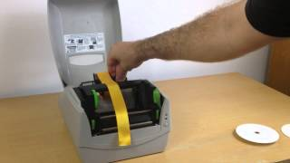 Express Ribbon Printer - Loading the Ribbon
