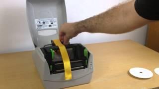 Express Ribbon Printer - Loading the Ribbon