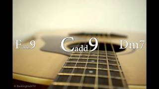 6/8 Pop Ballad Guitar Backing Track In A Minor / C Major