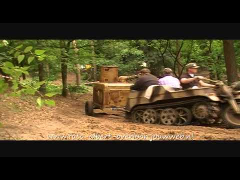 Militracks Libertypark Overloon de proef ronde's 13-05-2011