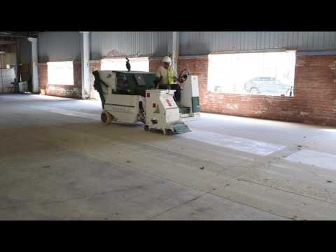 Shot Blasting Concrete Floors by TTM Finishes Inc.