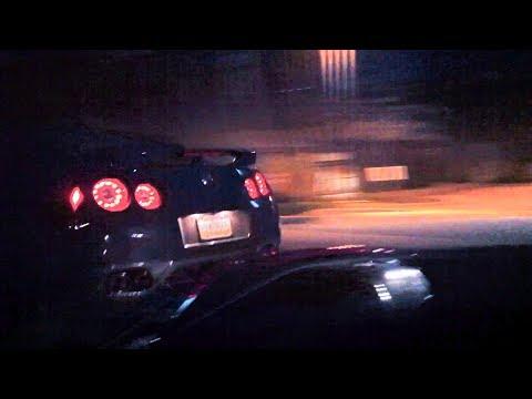 Nissan GTR vs Corvette ZO6