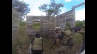 preview picture of video 'Entrenamiento Táctico en TixKoKob Merida Yucatan Mexico AirSoft'