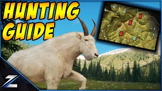 Hunting Guide For Mountain Goat on Silver Ridge Peaks
